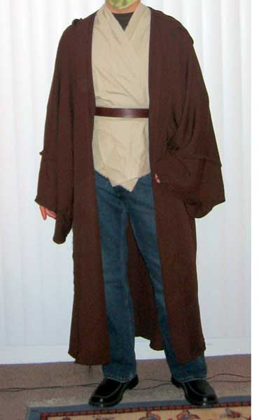 jedi robe tutorial