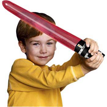 inflatable light saber