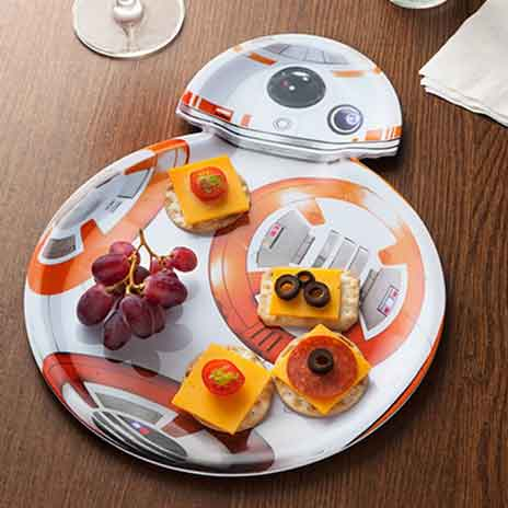 star wars serving tray  BB8