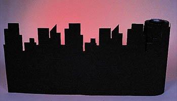city sky line backdrop