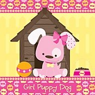 girl puppy dog party theme